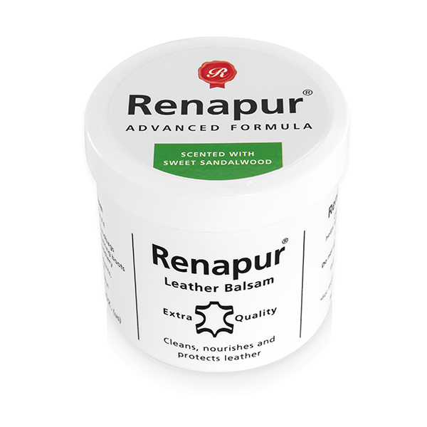 Renapur Leather Balsam 200ml - Scented with SWEET SANDALWOOD